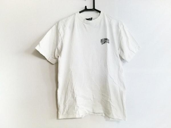 ビリオネアボーイズクラブ 半袖Tシャツ サイズS メンズ 白×ライトグレー×グレー