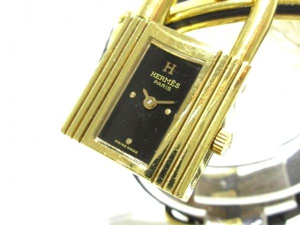 HERMES(エルメス) 腕時計 ケリーウォッチ - レディース 黒