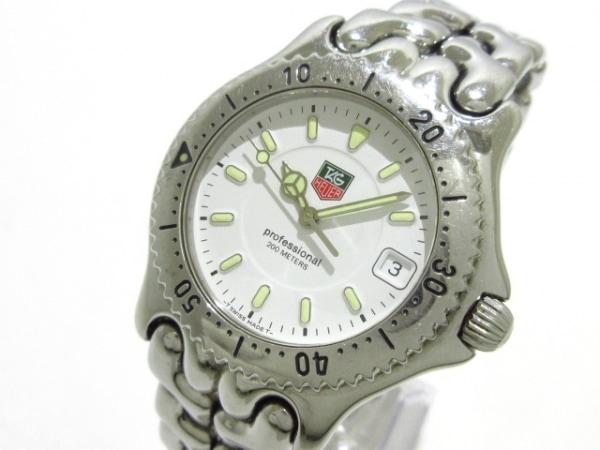 TAG Heuer(タグホイヤー) 腕時計 プロフェッショナル200 WG1110-0 メンズ 白