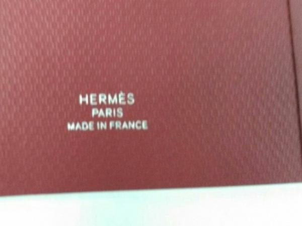 HERMES(エルメス) 小物 ボルドー ノート ペーパー