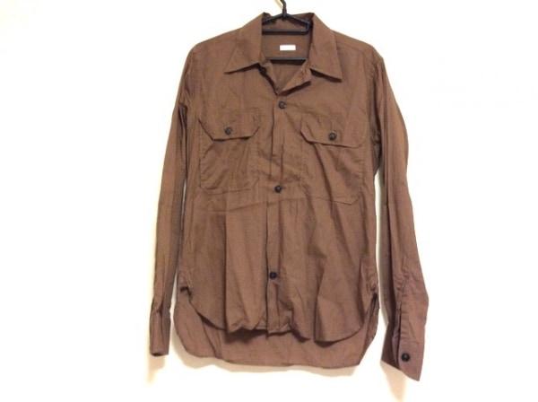 ORIAN(オリアン) 長袖シャツ サイズS メンズ ブラウン