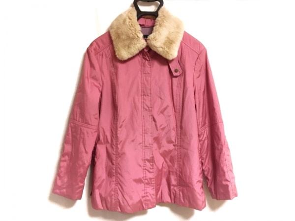 Laurel(ローレル) コート サイズ38 M レディース美品  ピンク ラビットファー/JEANS