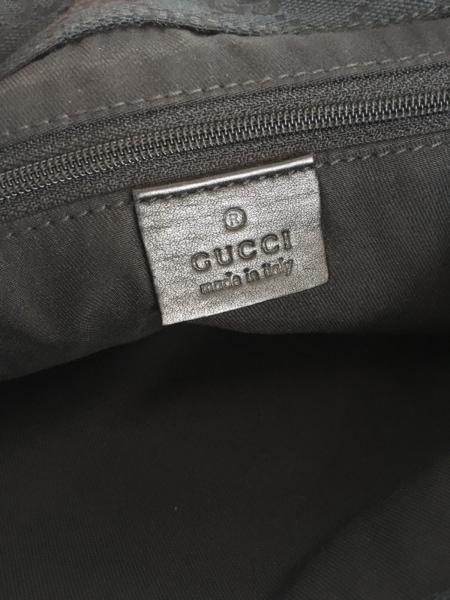 グッチ ショルダーバッグ - 170004 黒×ゴールド レザー×金属素材 6