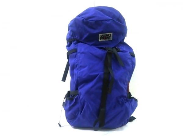 ZEROPOINT(ゼロポイント) リュックサック ブルー×黒 BALANCE PACK 30 ナイロン
