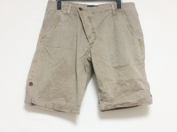 ディーゼルブラックゴールド ショートパンツ サイズ46 XL メンズ ダークブラウン