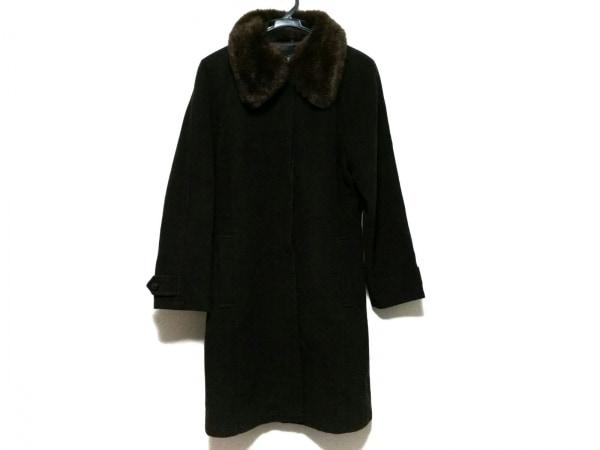 NICOLE(ニコル) コート サイズ38 M レディース美品  ダークブラウン 冬物