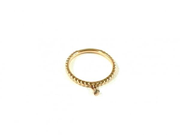 NOJESS(ノジェス) リング美品  K10×ダイヤモンド 1Pダイヤ/約0.01カラット