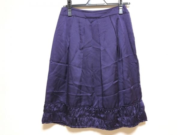 VIVIENNE TAM(ヴィヴィアンタム) スカート サイズ1 S レディース パープル