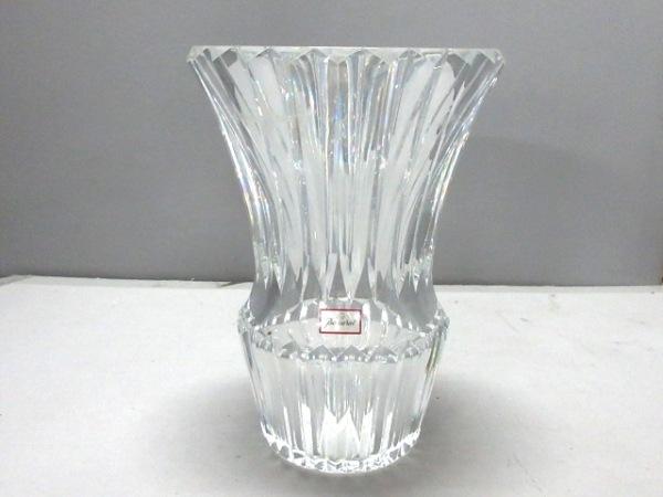 Baccarat(バカラ) 小物美品  クリア 花瓶 クリスタルガラス