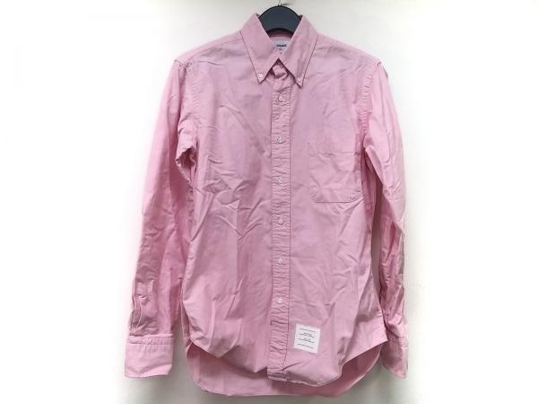 THOM BROWNE(トムブラウン) 長袖シャツ サイズ2 M メンズ ピンク