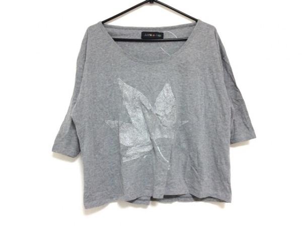 ホォアナ デ アルコ 半袖Tシャツ サイズ2 M レディース グレー×シルバー