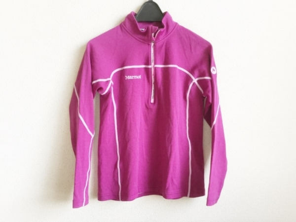 Marmot(マーモット) 長袖セーター サイズS レディース パープル×ピンク