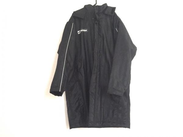 lotto(ロット) コート サイズXL メンズ美品  黒×レッド 冬物