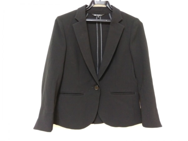 23区(ニジュウサンク) ジャケット レディース美品  黒 Vingt-trois arrondissements