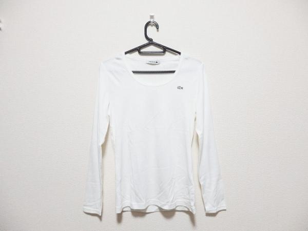 Lacoste(ラコステ) 長袖Tシャツ サイズ36 S レディース 白