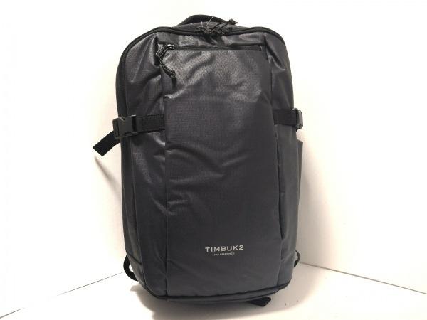 TIMBUK2(ティンバッグツー) リュックサック美品  黒 コーティングキャンバス