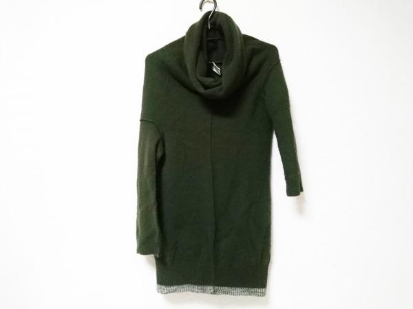 ワイズ 長袖セーター サイズ3 L レディース アイボリー タートルネック/変形デザイン