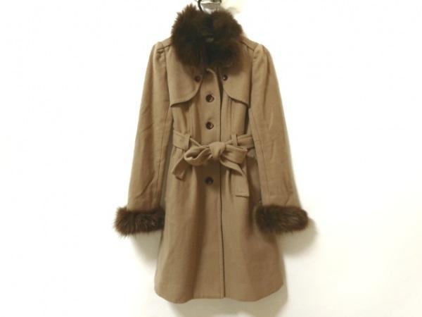リッチミーニューヨーク コート サイズ0 XS レディース ライトブラウン 冬物