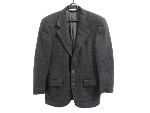 ジョセフアブード ジャケット サイズ36 S メンズ美品  黒×ダークブラウン