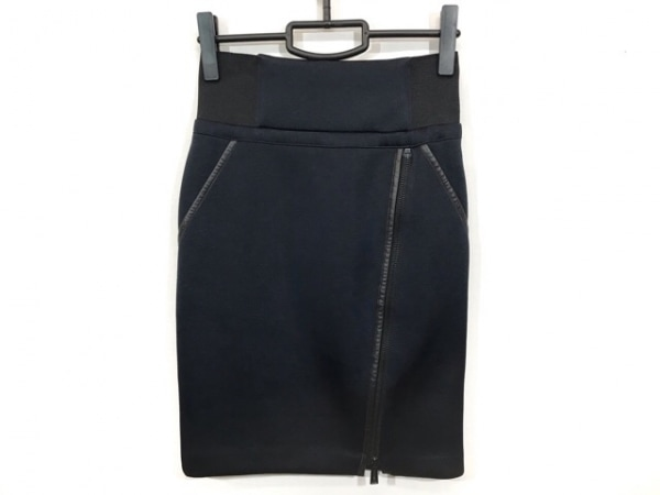 REBECCA MINKOFF(レベッカミンコフ) スカート レディース美品  ネイビー
