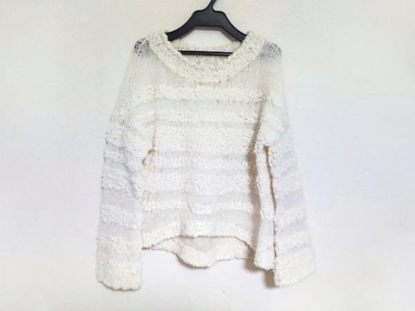 ELIN(エリン) 長袖セーター サイズ38 M レディース美品  アイボリー