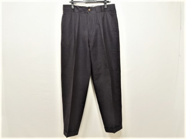 Jean Paul GAULTIER HOMME(ゴルチエオム) パンツ サイズL メンズ ダークグレー 綿、麻
