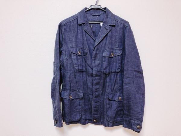 TAKEOKIKUCHI(タケオキクチ) ジャケット サイズ2 M メンズ美品  ネイビー