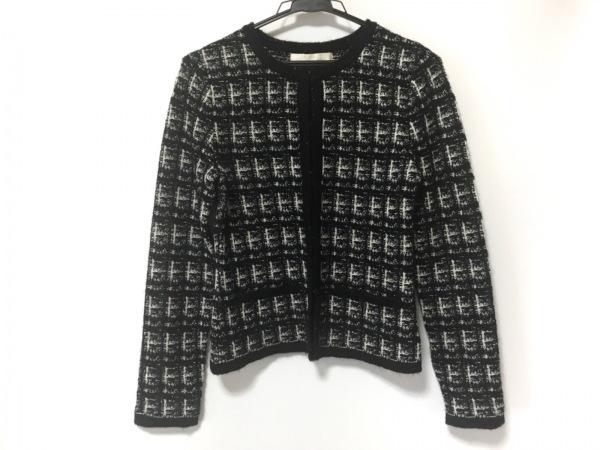 ナチュラルビューティー ベーシック コート サイズ38 M レディース美品  黒×白