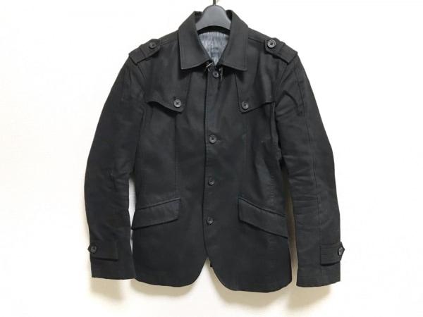 A.S.M(アトリエサブメン) ジャケット サイズ48 XL メンズ美品  黒