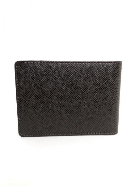 ルイヴィトン 2つ折り財布 タイガ美品  ポルト ビエ・3 ヴォレ 2