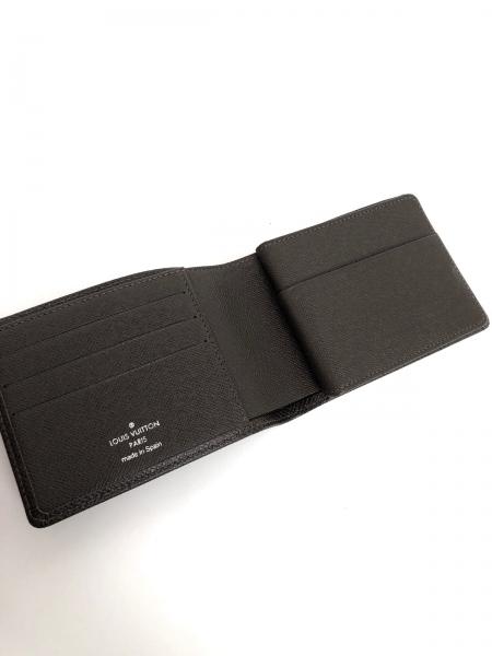ルイヴィトン 2つ折り財布 タイガ美品  ポルト ビエ・3 ヴォレ 3