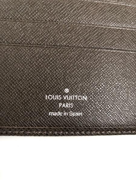 ルイヴィトン 2つ折り財布 タイガ美品  ポルト ビエ・3 ヴォレ 5