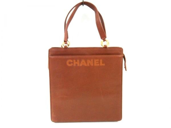 CHANEL(シャネル) ハンドバッグ - ブラウン ラムスキン