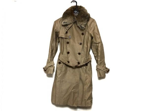 Jines(ジネス) コート サイズ38 M レディース美品  ライトブラウン 冬物