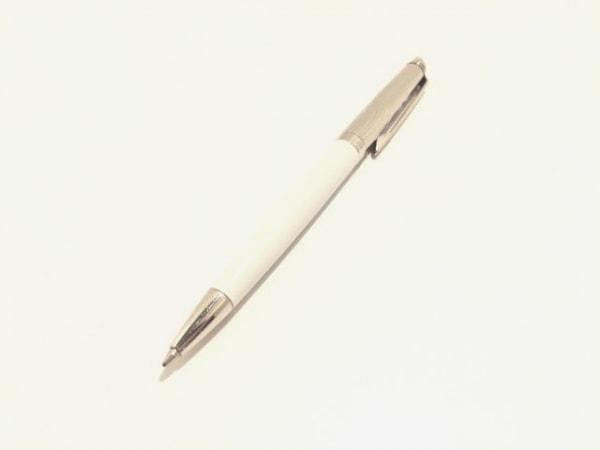 WATERMAN(ウォーターマン) ボールペン美品  シルバー×グレー インクあり(黒)