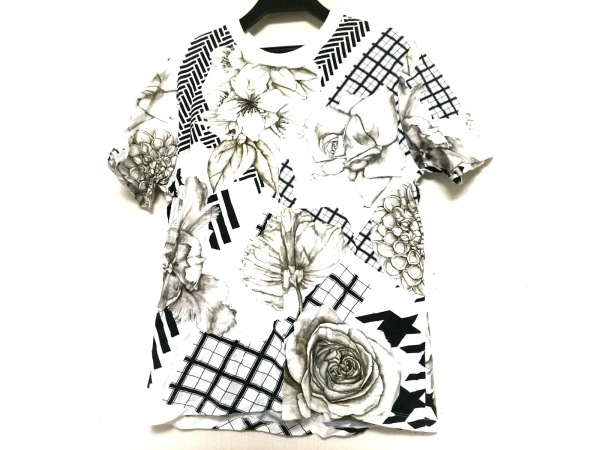 SWASH(スウォッシュ) 半袖Tシャツ サイズM レディース 白×マルチ