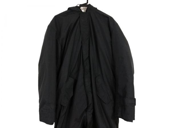 BARREAUX(バルー) コート サイズ48 XL メンズ美品  黒 冬物
