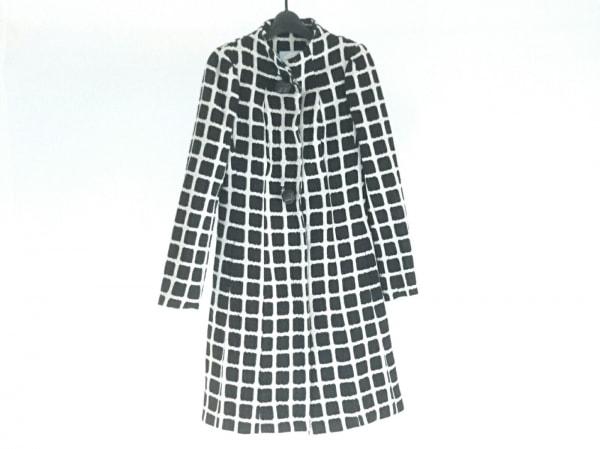 TracyReese(トレイシーリース) コート サイズ2 M レディース 黒×白 冬物