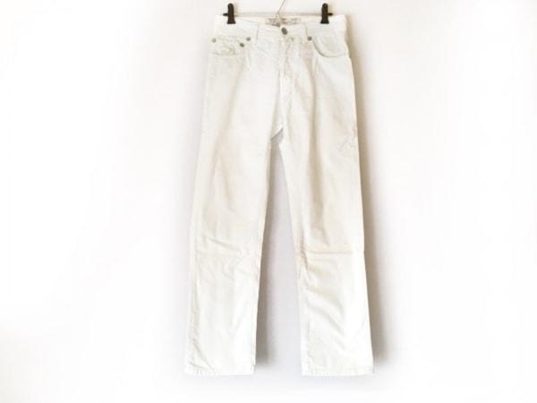JACOB COHEN(ヤコブコーエン) パンツ サイズ30 メンズ アイボリー