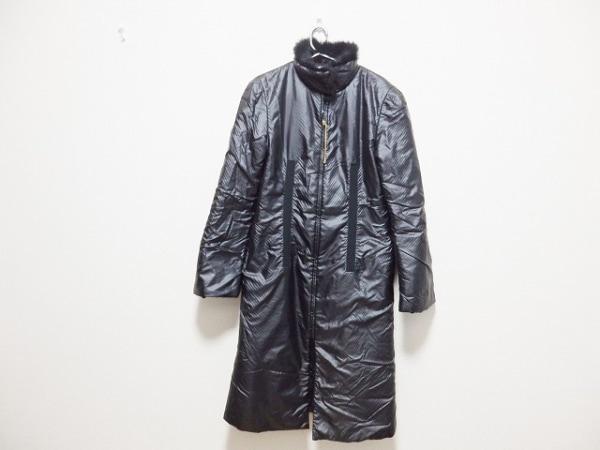 FENDI jeans(フェンディ) コート サイズ44 L レディース 黒 冬物/ジップアップ