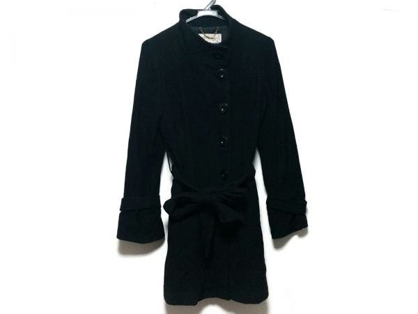 PeachJohn(ピーチジョン) コート サイズS/M レディース美品  黒 冬物