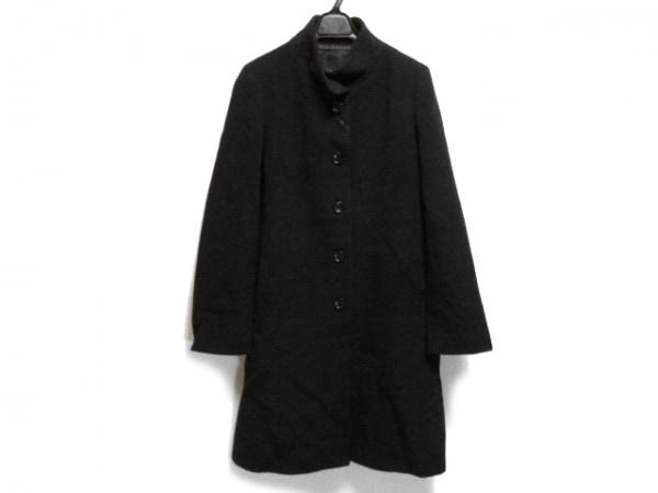 ICB(アイシービー) コート サイズ42 L レディース 黒 ロング丈/冬物