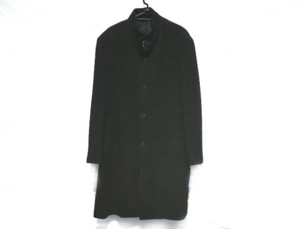 コムサコレクション コート サイズ2 M メンズ美品  ダークグレー 冬物