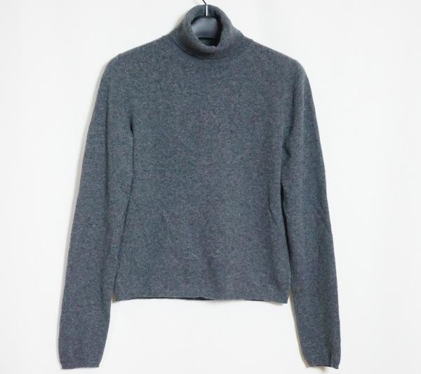 プラダ 長袖セーター サイズ40 M レディース  ダークグレー タートルネック