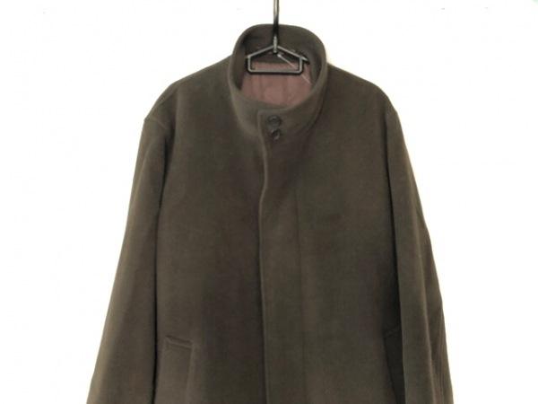 ARAMIS(アラミス) コート サイズM メンズ ダークブラウン ネーム刺繍/冬物
