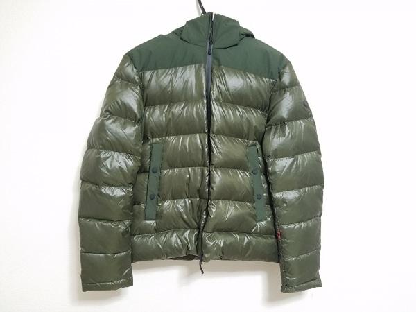 AT.P.CO(アティピコ) ダウンジャケット サイズL メンズ美品  グリーン