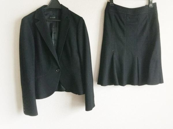 Le souk(ルスーク) スカートスーツ サイズ36 S レディース 黒