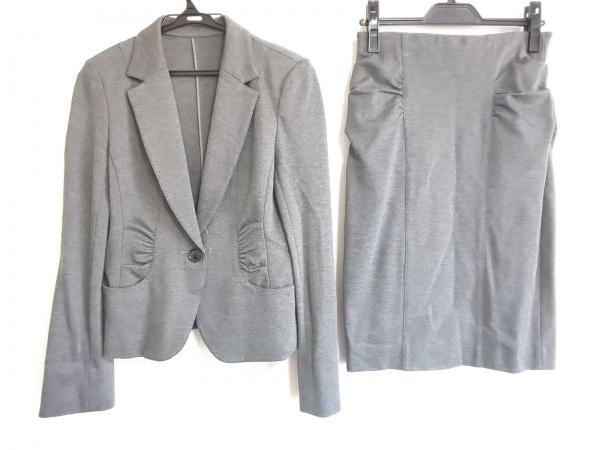 LEJOUR(ルジュール) スカートスーツ サイズ38 M レディース美品  グレー