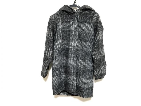 LEPSIM(レプシィム) コート サイズM レディース 黒×アイボリー 冬物