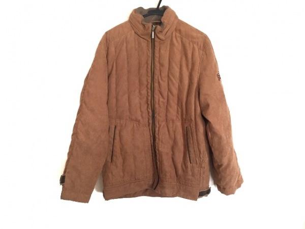 PAGELO(パジェロ) ダウンジャケット サイズL メンズ ブラウン 冬物